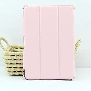 IVSO® Slim Smart Cover Etui Housse pour Samsung Galaxy Tab 2 10.1 P5100 P5110 Tablette (Pour Galaxy Tab 2 10.1 Inch, Pink)