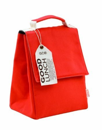 Ore Originals Good Lunch Sack, Rusty Red front-960217