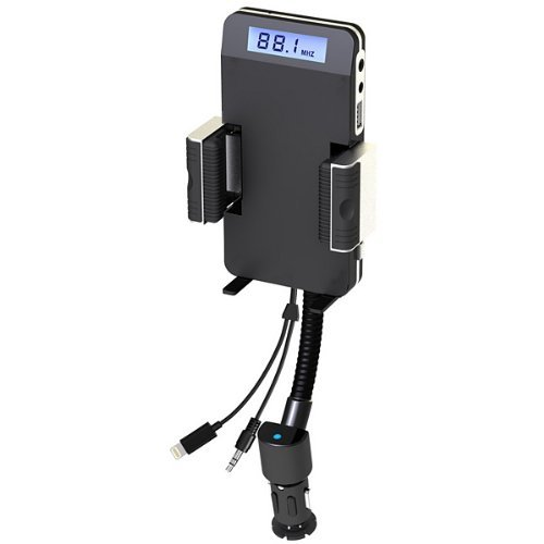 F11B FM Transmitter Car Charger Holder With Remote Control