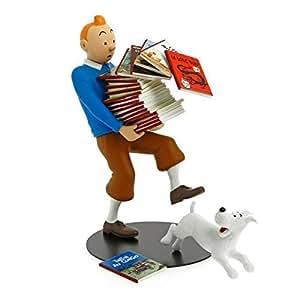Statuette - Tintin tenant les albums - Version 2014- 3000 ex