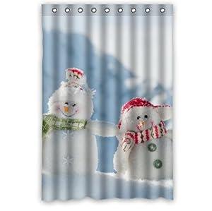 personalized winter snowman bathroom