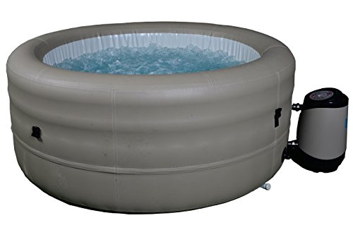 Canadian Spa Company 4 Person Inflatable Deluxe Plug & Play Portable Spa / Hot Tub, Garden Outdoors Use