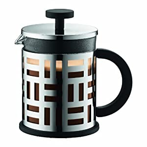 Bodum Eileen French Press Coffee Maker, 17-Ounce, Chrome by Bodum