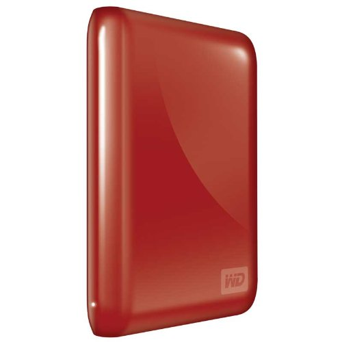 Wd My Passport Essential 320 Gb Usb 2.0 Portable External Hard Drive (Real Red)