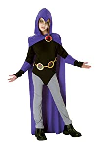 Teen Titans Raven Costume - Child Large