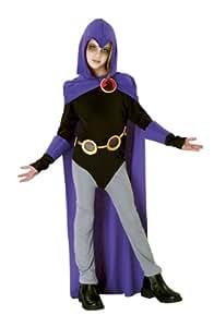 Teen Titans Raven Costume - Child Large