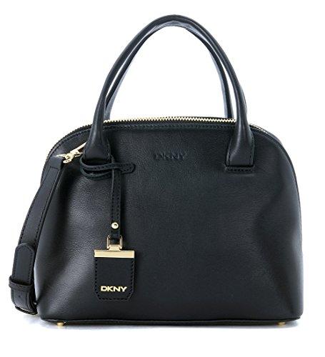 Borsa a mano DKNY in pelle nero rettangolare