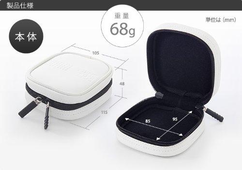 サンワダイレクト MagSafe電源アダプタ専用インナーケース MacBook Air用電源 45W・60Wサイズ対応 200-IN036W