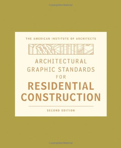 Architectural Graphic Standards for Residential Construction - Hard-cover - Wiley - 0470395834 - ISBN: 0470395834 - ISBN-13: 9780470395837