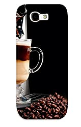 Hot Snap-on Coffee Machine Cappuccino Espresso Coffee Beans Cup Brown Steam Tech Mech Milk Cchocolate Hard Cover Case/ Protective Case For Galaxy Note 2 made by standinmyside