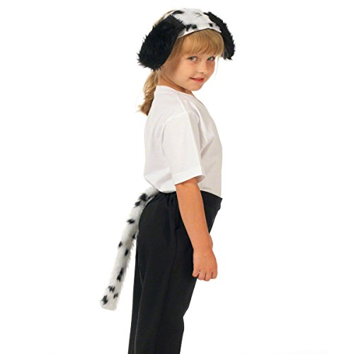 Dalmatian Top & Tail - Kids Costume - One Size