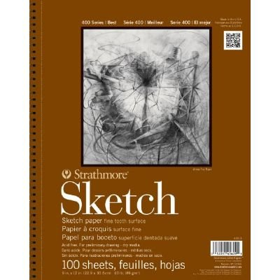3 Pack 9 x 12 Wire Bound Sketch Pad (Product Catalog: Paper Media, Canvas & Surfaces)