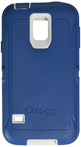 OtterBox 'Defender' Protective Case for Samsung Galaxy S5 Phone (all models) and Belt-Clip - Blue/White (Belt Case Samsung S5 compare prices)