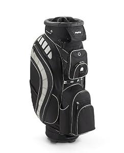 Bag Boy Revolver XL Cart Bag, Black/Black/Silver
