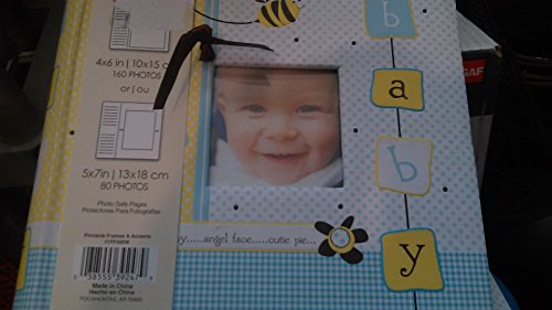 Pinnacle Frames and Accents 2-Up Baby Boy Album