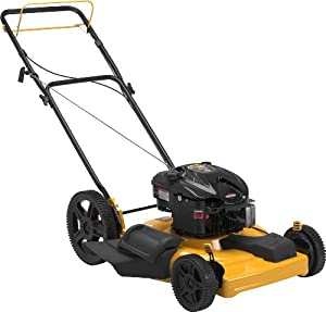 Poulan Pro PR625Y22SHP-CA 22-Inch Briggs and Stratton 625 Series Gas Powered Mulch/Side Discharge FWD Self Propelled Lawn Mower With High Rear Wheels CARB Compliant (Discontinued by Manufacturer)