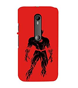 EPICCASE Burning flash Mobile Back Case Cover For Moto X Force (Designer Case)