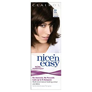 Clairol Nice'n Easy By Loving Care Non Permanent Hair Colour - 79 Dark Brown