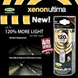 Pair of Xenon Gas Ultima H1 12v Car 120% Brighter Upgrade Headlight Headlamp Bulbs Upgrade your Headlights in Minutes for BMW 3 SERIES Saloon FROM 1983 TO 1991