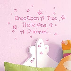 amazon com main street wall creations sticker once upon