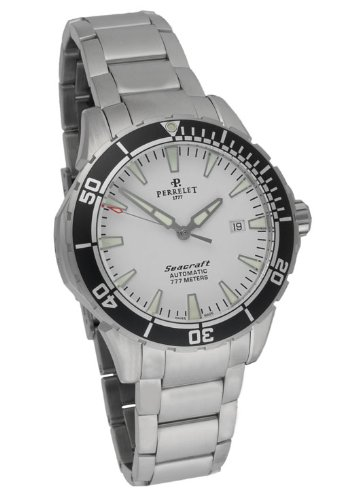 Perrelet Diver Seacraft 3 Hands-Date Men's Luxury Watch A1053/A