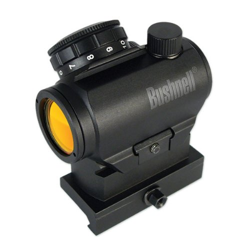 Bushnell Optics TRS-25 HiRise Red Dot Riflescope with Riser Block, 1x25mm Optional Fixed Arms