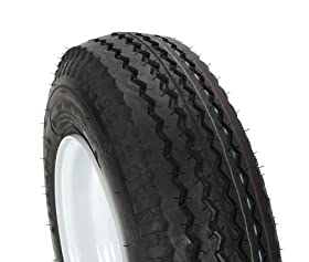 Kenda Trailer Tire/Wheel Assembly - 6-Ply Rated/Load Range C - 4.80/4.00-8 - 4 Hole Rim 30040