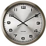 Karlsson KA4626 Horloge Maxie Métal Poli Aluminium