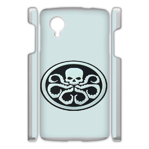 Custom personalized Case-Google Nexus 5-Phone Case skull logo Design your own cell Phone Case skull logo