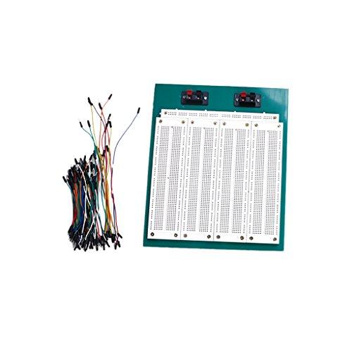 carte-de-circuits-essais-sans-soudure-2860-tie-points-avec-cavaliers-jumpwires