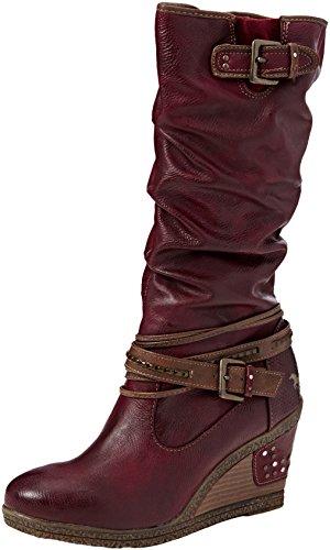 Mustang 1083-509, Stivali alti Donna, Rosso (55 Bordeaux), 37 EU