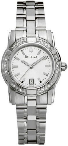 Bulova Women'S 96R112 Diamond Accented Bracelet Watch