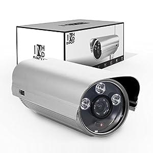 Instar WLAN IP-Kamera für Außenbereich, IN-5907HD (WDR-Bildsensor, 1 Megapixel, 3x High Power IR LEDs, 13 Watt) silber