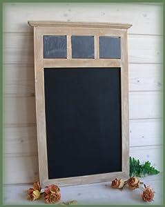 schiefer holz kreide tafel memoboard wandtafel shabby chic. Black Bedroom Furniture Sets. Home Design Ideas