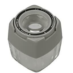 Dorr Table Lupe 8X Magnifier Cube 540130 [540130]