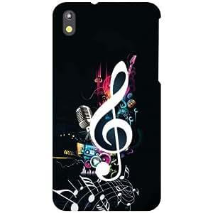 HTC Desire 816G Back Cover - Love Music Designer Cases