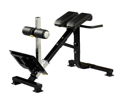 Powertec Fitness P-Hc10 45-Degree Dual Hyperextension / Roman Chair front-1081281