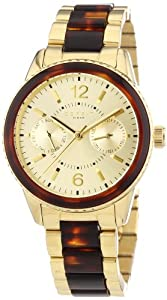 Esprit Damen-Armbanduhr Marin TortoiseAnalog Quarz ES106742003