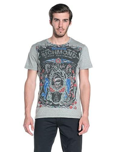 RICHMOND Camiseta Manga Corta Gris
