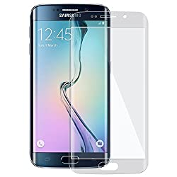 GOON SHOPPING 0.3 mm CURVE TEMPERED GLASS SCREEN PROTECTOR FOR SAMSUNG GALAXY S7 EDGE -TRANSPARENT + TRANSPARENT BACK
