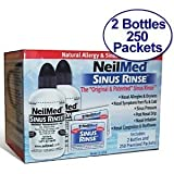 NeilMed Sinus Rinse - 2 Bottles - 250 Premixed Packets - Value Packby NeilMed Sinus Rinse