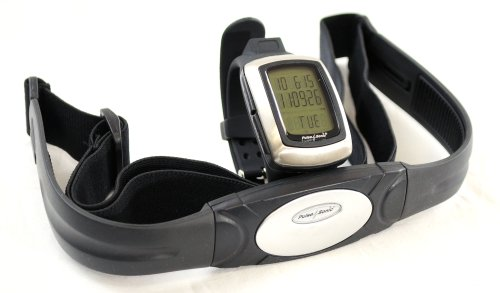 Cheap GSI Super-Quality All-In-One Exercise Monitoring System With Built-In USB Interface – Heart Rate Monitor Watch, 3D Sensor – Transmitter Chest Belt – Measures Distance, Speed, Steps, Calories and Fat – For Running, Jogging and Walking – Upload Data to Computer – Alarm and Stopwatch Functions (GK3555)