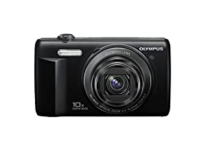 Olympus VR-340 16MP Digital Camera with 10x Optical Zoom (Black)