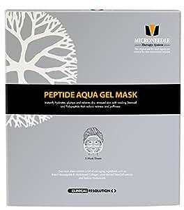 Amazon Com Mts Peptide Aqua Gel Mask 5 Pcs Box