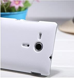 Brand NILLKIN Slim Hard Quality Case Cover For Sony Xperia SP M35h (white)