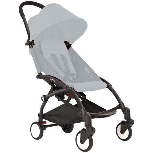 BabyZen YOYO Stroller Frame - Black - 1