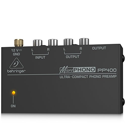BEHRINGER MICROPHONO PP400 (Turntable Preamp compare prices)