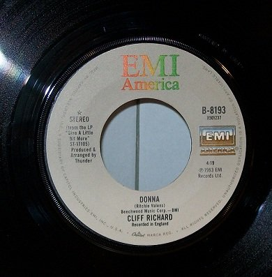 Cliff Richard - Donna / Ocean Deep 45 Rpm Single - Zortam Music