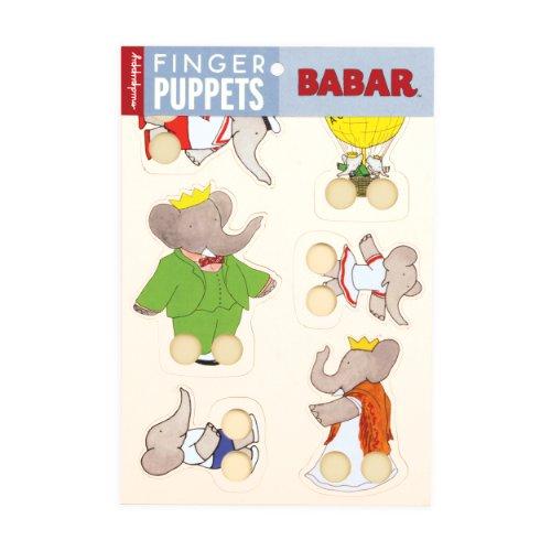 Mudpuppy Babar Finger Puppets