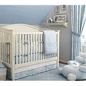 Childrens Nursery Bedding on Amazon Com  Pottery Barn Kids Abbot Animals Nursery Bedding Set  Baby